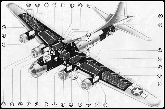 b17 details rh ships bouwman com B-17 Engine Detail B-17 Bomber Specifications