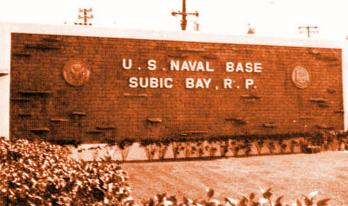 Subic Bay Naval Base 1983