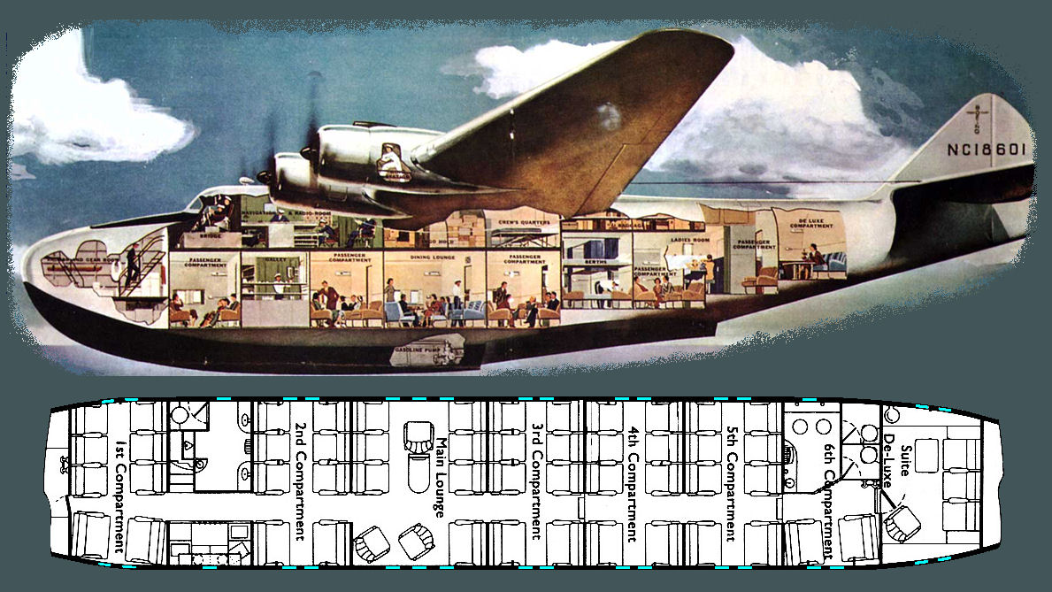 Kitchen Galley Diagram Not Lossing Wiring Boeing Diagrams Pan American Clipper With Island Open
