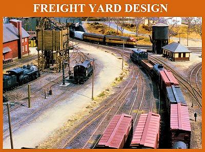 Yard Design: Model Railroad Freight Yard Design on